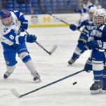 Waves of Catholic Central hockey skill bury Salem Rocks, 8-0