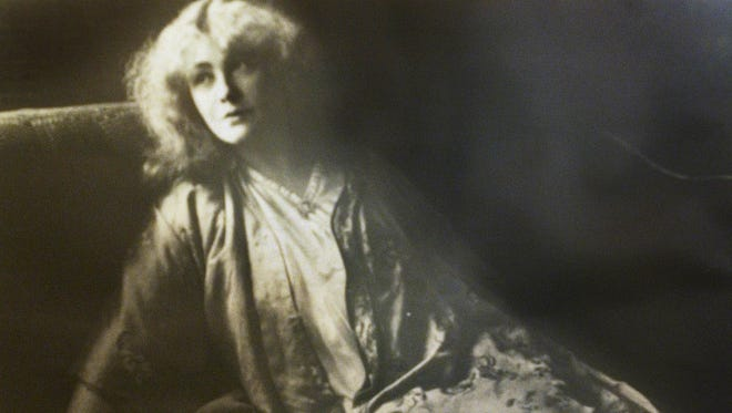 An undated photo of artist and Kewpie creator Rose O'Neill from the collections of the Rose O'Neill and Bonniebrook Museum.