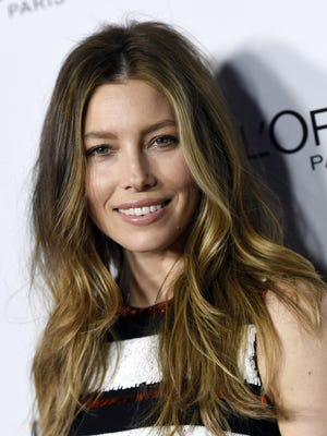 Actress Jessica Biel poses at the Marie Claire Image Maker Awards at the Chateau Marmont on Tuesday, Jan. 12, 2016, in Los Angeles. (Photo by Chris Pizzello/Invision/AP)