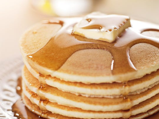 Enjoy a big stack of flap jacks in Parsippany on Sunday.