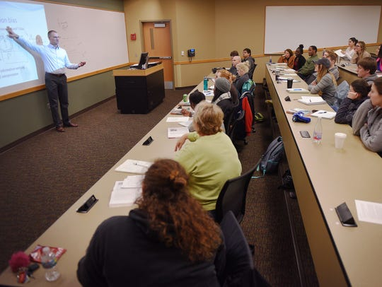 University Center psychology professor Martin Dennis