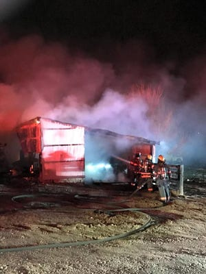 Loveland Fire Rescue Authority crews responded to a structure fire on Wednesday, March 21, 2018, in the 3600 block of West Eisenhower Boulevard.