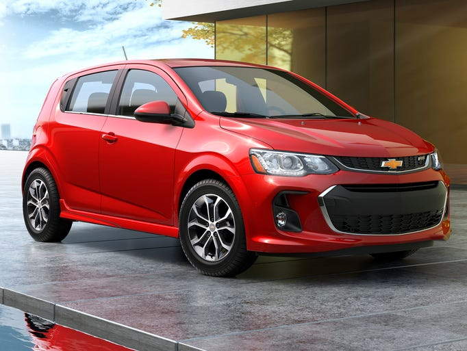 Chevrolet today introduced the 2017 Sonic – a more