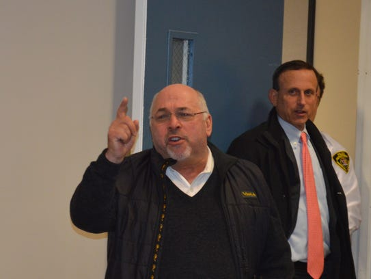 Attorney Bob Bernstein, at the hearing on the Edgemont