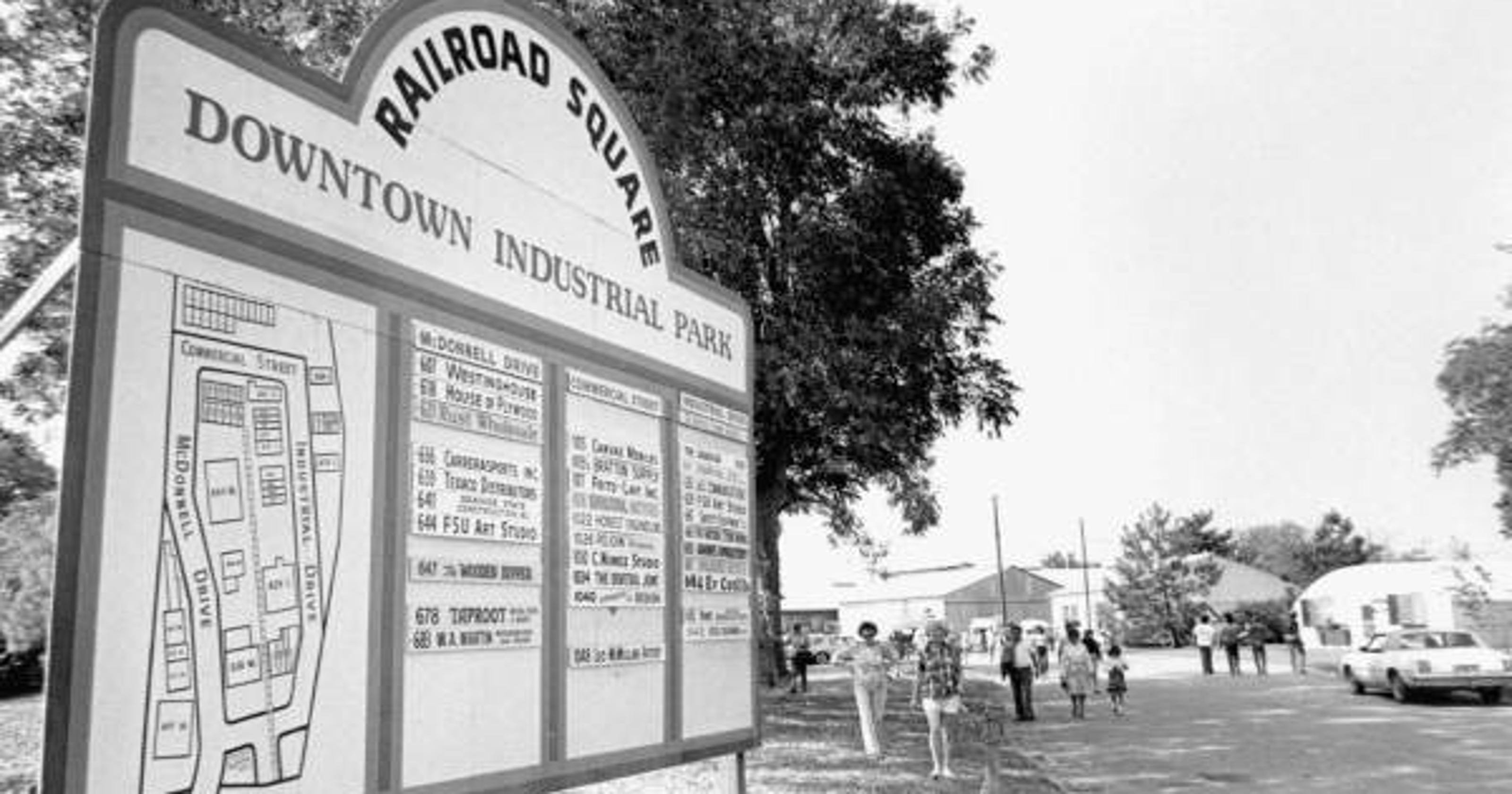 Railroad Square Art Park began as sawmill, lumber yard