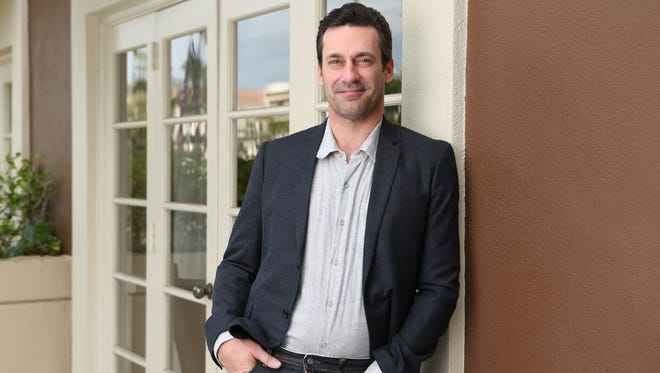 As Jon Hamm stars in his first leading film role, he's wrapping up his iconic turn as Don Draper on AMC's 'Mad Men.'