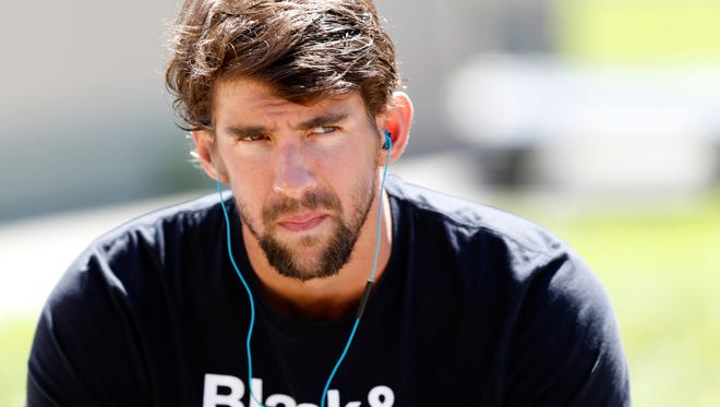 Phelps announced that he would be taking time away from swimming.