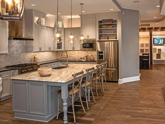 Bring your dream home to life at drees new design center for Best brand of paint for kitchen cabinets with no step sticker