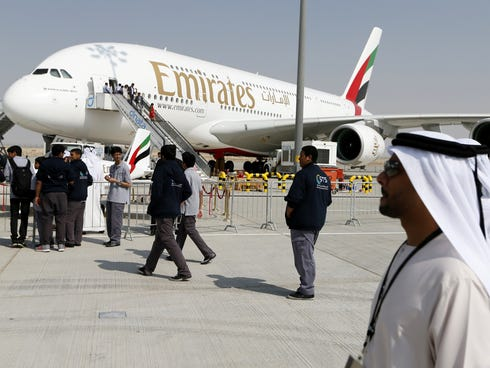 Middle East airlines such as Emirates, Etihad and Qatar have been ordering new planes at a prodigious rate, and many will see service at U.S. airports.