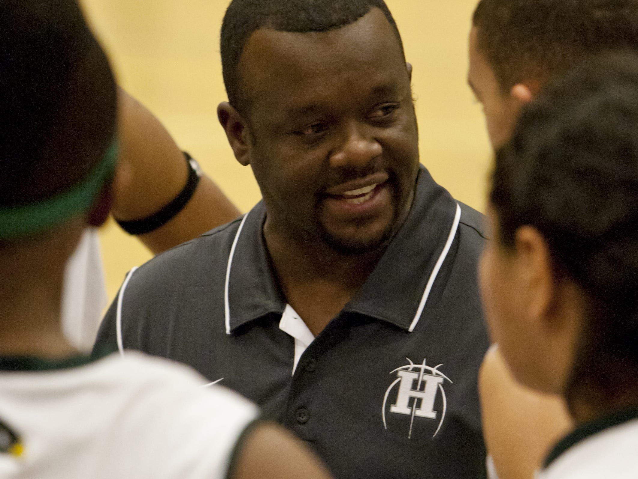 Keith Crawford, shown during a Hug Hawks game in 2012, has been named the boys head coach of the McQueen Lancers.