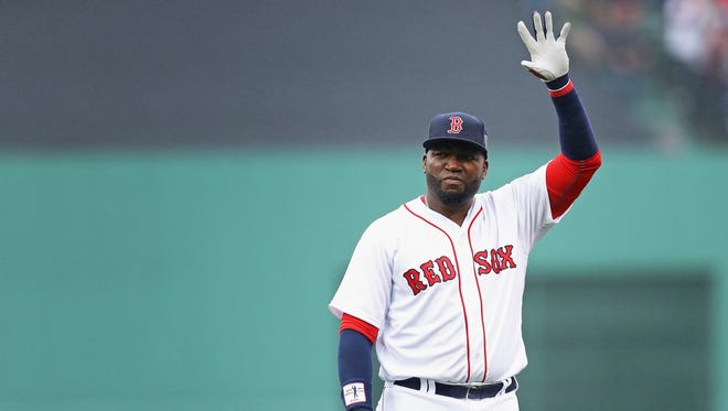 David Ortiz will be the last Red Sox to wear No. 34.