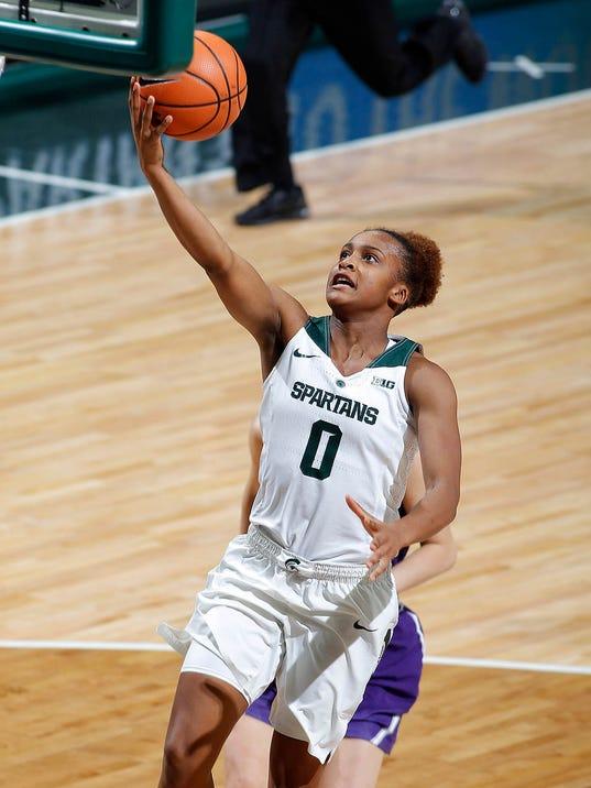 MSU vs Northwestern Women's Basketball