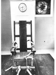 Louisiana's electric chair, nicknamed Gruesome Gertie
