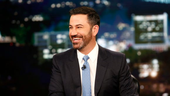 Jimmy Kimmel showing how we look while watching 'Mean