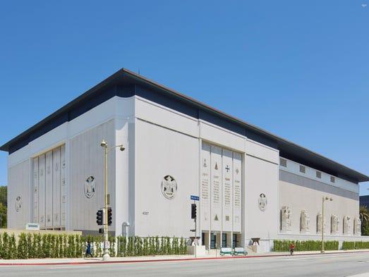 The Scottish Rite Masonic Temple on Wilshire Boulevard