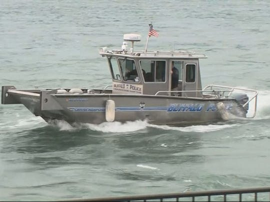 Buffalo Police dive team is searching for a missing