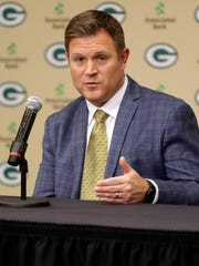 New general manager Brian Gutekunst will get his first swing at conducting the NFL draft for the Green Bay Packers.