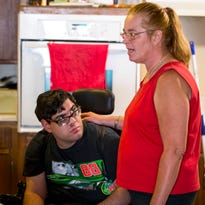Quadriplegic spends hours in a dirty diaper after his Medicaid services are cut