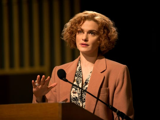 "Rachel Weisz in the fact-based courtroom drama ""Denial."""