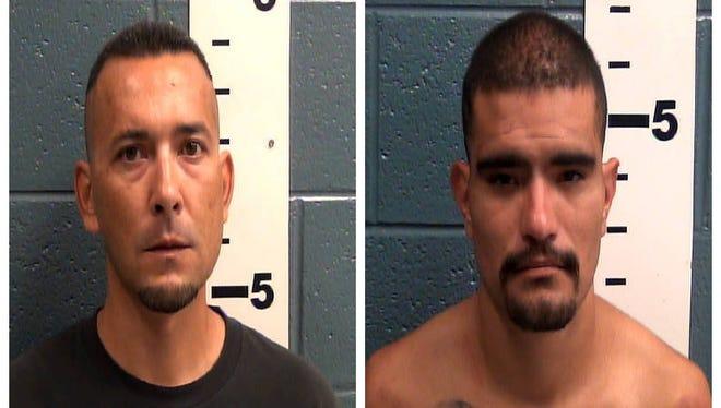 Frankie Valenzuela, left, and Lewie Gonzalez, right