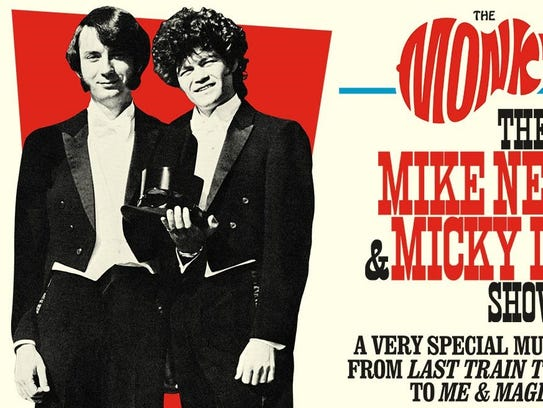 Mike Nesmith and Micky Dolenz of the Monkees are touring