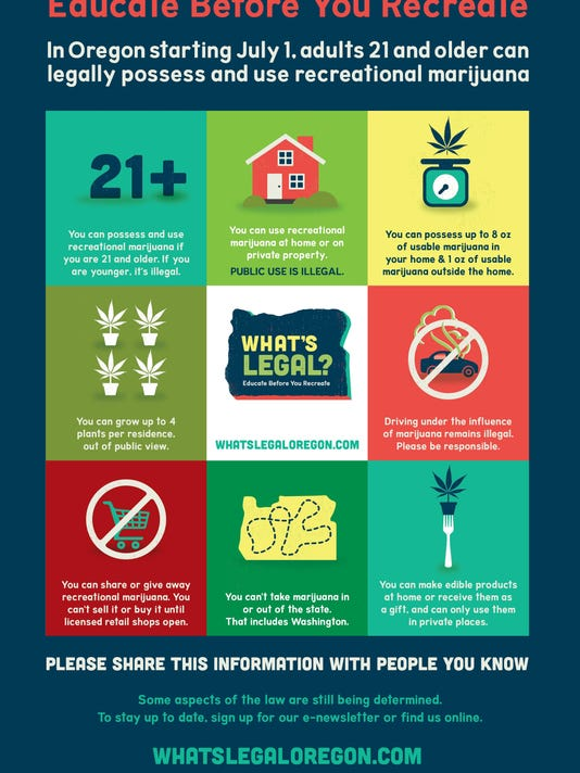 SAL Marijuana campaign