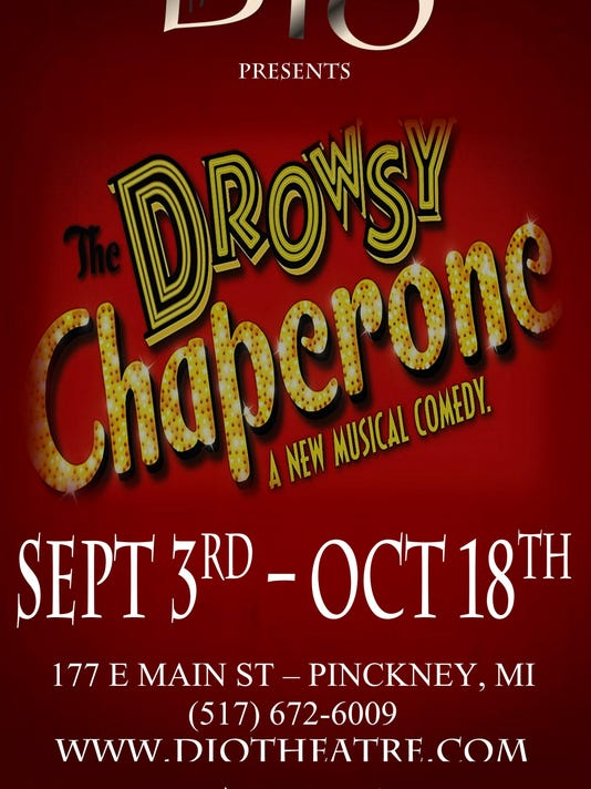 THE DROWSY CHAPERONE POSTER