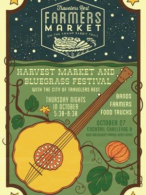 The third annual Harvest Market kicks off its season at Trailblazer Park in Travelers Rest Oct. 6.