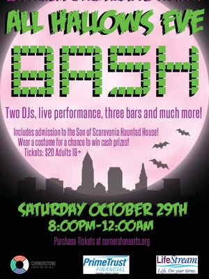All Hallow's Eve Bash will kick off at 8 p.m. Saturday, Oct. 29 at Cornerstone.