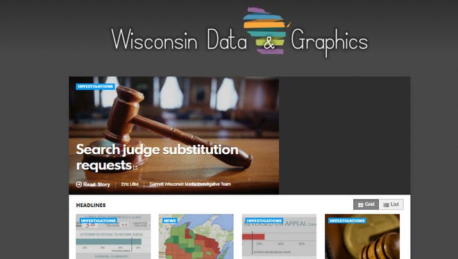 Wisconsin Data & Graphics page