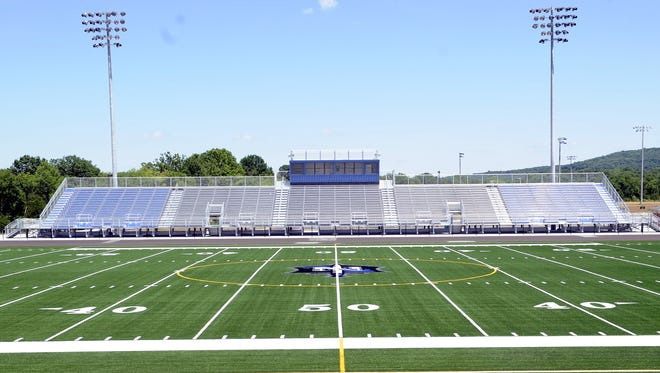 Nolensville High received an artificial turf football field when the school opened in 2016.
