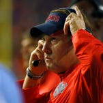 Ole Miss struggled early in its 38-10 upset loss to Florida.