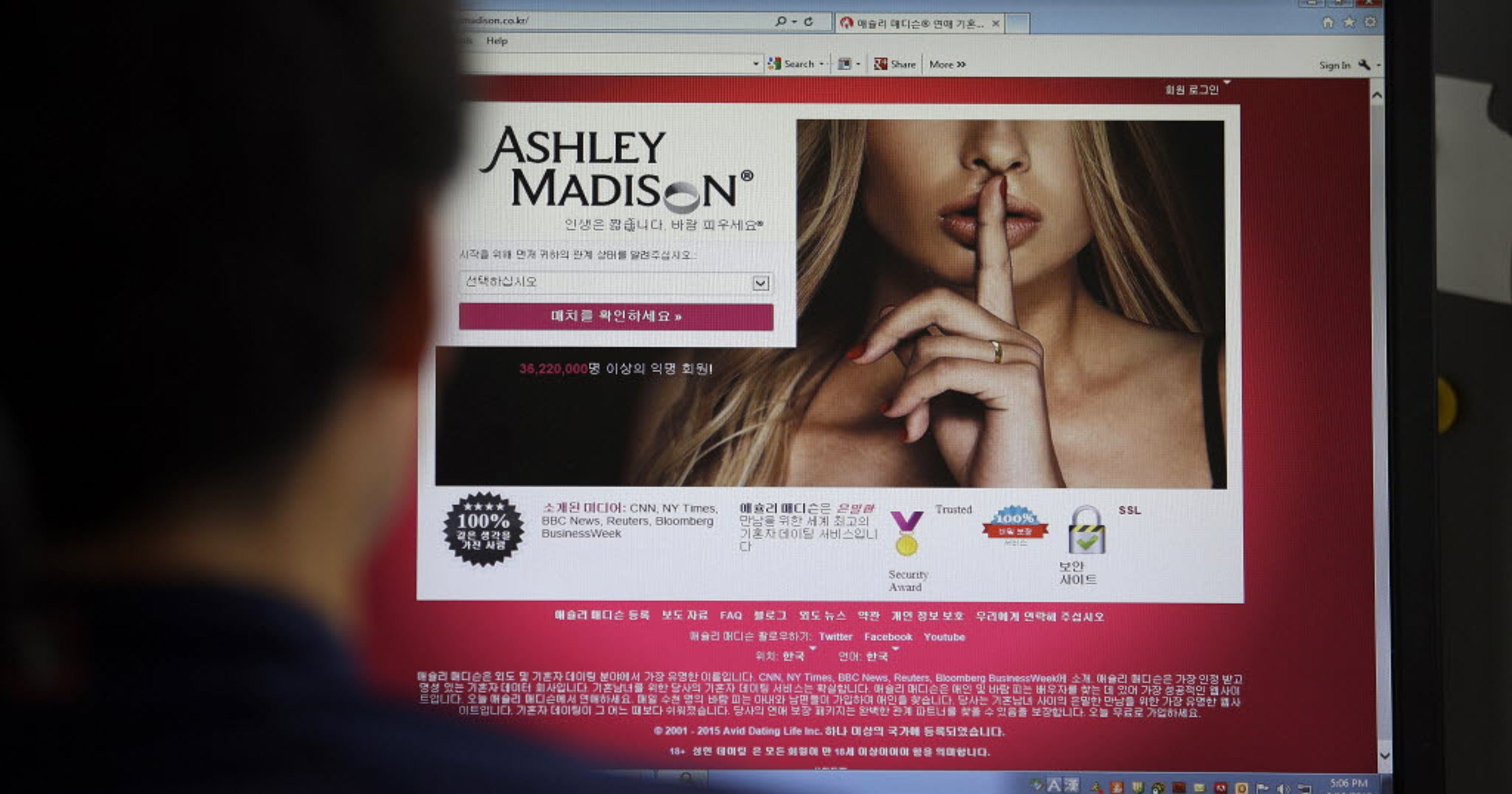 Hacked Data From Ashley Madison Cheating Site Is Posted Report Says