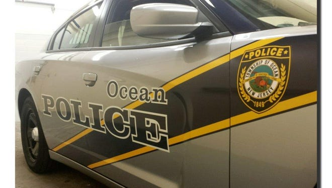 File photo shows an Ocean Township Police Department patrol car
