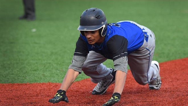 Passaic Tech's Eric Rodriguez is one of the state's top defensive players in center field and will assume the closer's role.