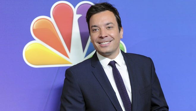 Jimmy Fallon in New York.