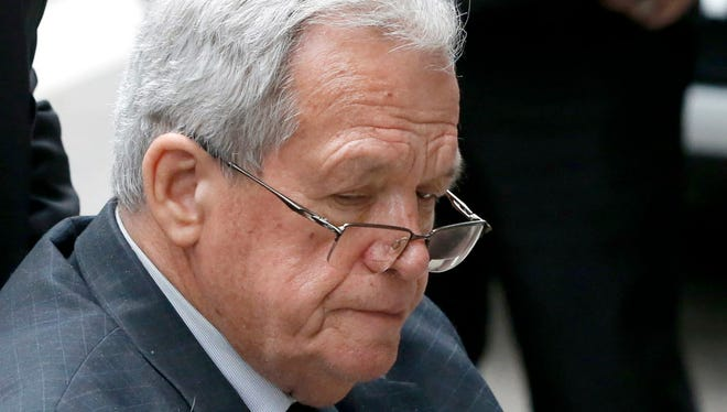 The board of trustee's of the Illinois General Assembly Retirement System voted Wednesday to strip former House Speaker Dennis Hastert of his state pension. Hastert is in the midst of serving a 15-month sentence bank fraud charges related to hush money payments he made to someone he sexually abused decades ago.