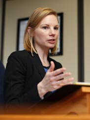 """Missouri State Auditor Nicole Galloway audited the city of Sparta and its municipal court in 2016, giving the city the worst possible rating, """"poor,"""" and rating the court """"fair."""""""