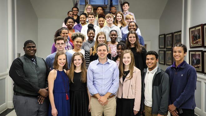 The Mayor's Youth Council is comprised of high schoolers from Hattiesburg High School, TIDE School, Sacred Heart School and Presbyterian Christian School.