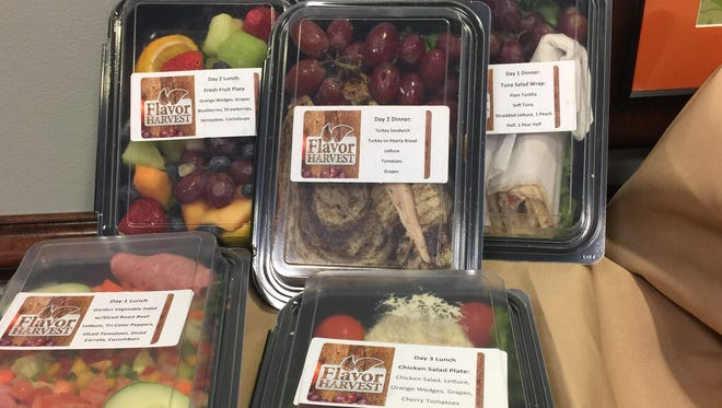 Fresh fruit and vegetables, included in every Flavor Harvest @Home delivery, provide needed nutrients for healing and rebuilding strength.