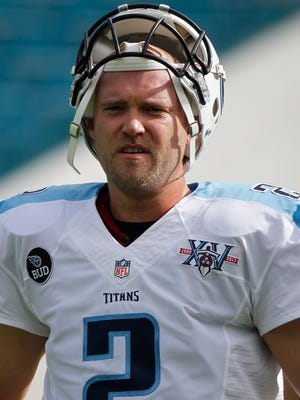 Rob Bironas had 1,032 points in his nine-year career, all spent with the Tennessee Titans.