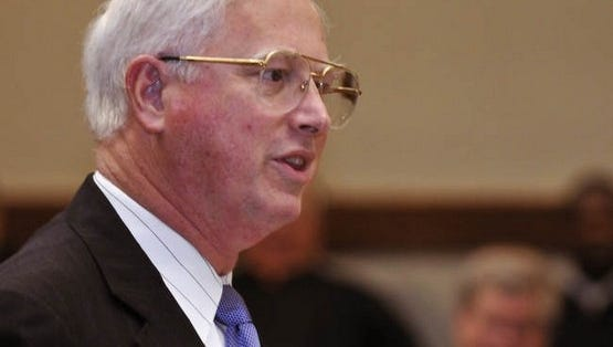 A memorial service for judge Davis will be held on Saturday  at 11 a.m. at Christ Church with a  family visitation afterward in the parish hall.