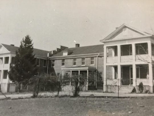 The District Home in 1946.