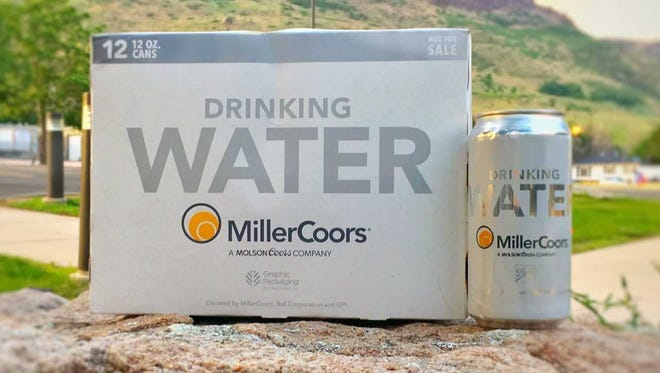 MillerCoors has donated 50,000 cans of drinking water to storm-ravaged areas of the Gulf Coast. 50,000 cans is more than 4,000 12-packs.