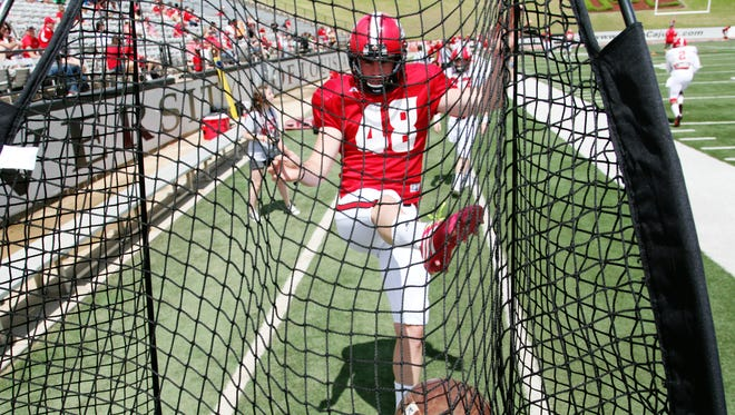 FILE -- UL senior Daniel Cadona was one of 80 players named today as nominees for the 2014 Ray Guy Award.