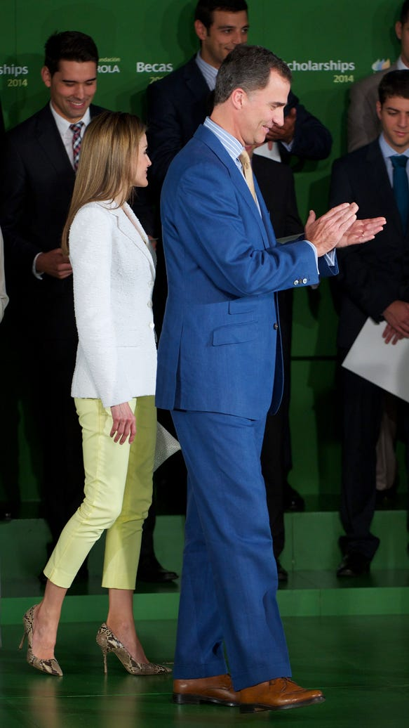 Letizia's cropped look
