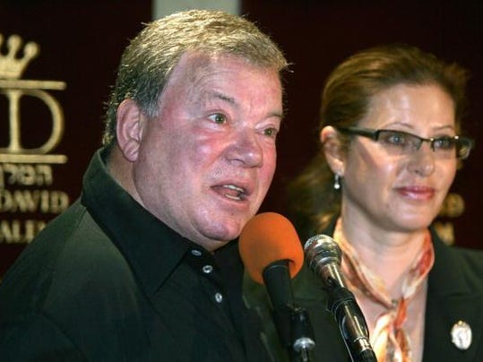 Hollywood Star William Shatner and his w