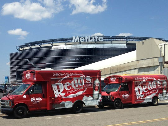 Redd's offers shuttle service to and from MetLife Stadium