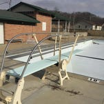 Hagerstown's Dutro Community Pool sits empty earlier this year.