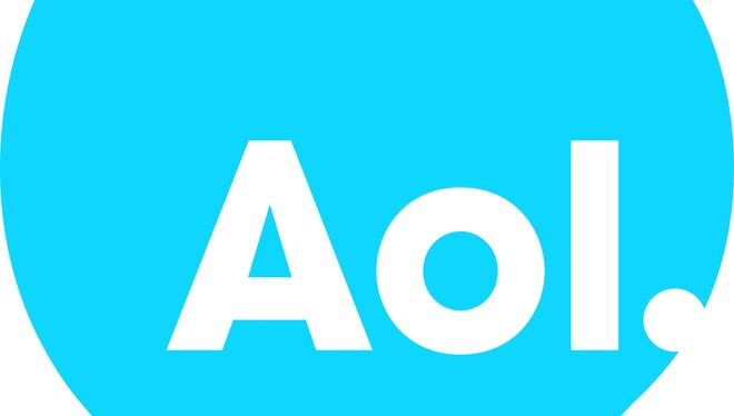 An AOL logo.